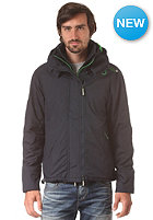 SUPERDRY Pop Arctic Windcheater Zip Hooded Jacket french navy/kelly green