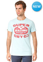 SUPERDRY Racing Oil Reworked Classic S/S T-Shirt baby blue