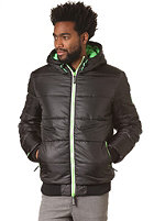 SUPERDRY Sport Polar Puffer Jacket black/lime