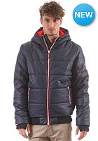 SUPERDRY Sport Polar Puffer Jacket navy/bright red