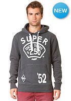 SUPERDRY Tours Tin Tab Hooded Sweat charcoal