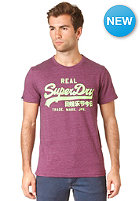 SUPERDRY Vintage Entry S/S T-Shirt tom plum marl