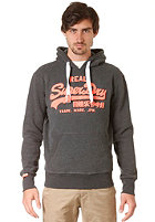 SUPERDRY Vintage Logo Drop Shadow Entry Hooded Sweat charcoal marl