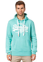 SUPERDRY Vintage Logo Entry Hooded Sweat cool green marl