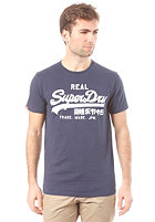 SUPERDRY Vintage Logo Entry S/S T-Shirt nautical navy
