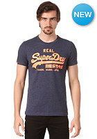 SUPERDRY Vintage Logo Entry S/S T-Shirt navy marl