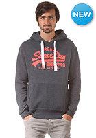 SUPERDRY Vintage Logo Hooded Sweat midnight marl