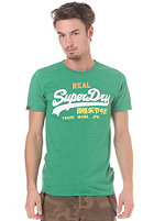 SUPERDRY Vintage Logo Tri Colour Entry S/S T-Shirt kelly green marl