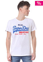 SUPERDRY Vintage Logo Tri Colour Entry S/S T-Shirt optic