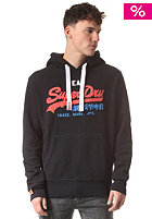 SUPERDRY Vintage Logo Tri Colour Hooded Sweat eclipse navy