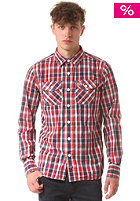 SUPERDRY Washbasket L/S miami red check