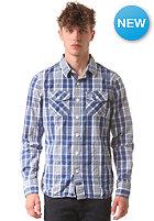 SUPERDRY Washbasket L/S Shirt scott navy check