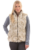 SUPERDRY Womens Antarctic Faux Fur Gilet Jacket alaskan winter
