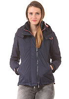 SUPERDRY Womens Arctic Windcheater Pop Hooded Zip Jacket navy/pinkade