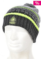 SUPERDRY Womens Arete Fairisle Beanie downhill black