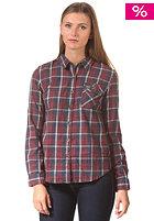 SUPERDRY Womens Boyfriend Lumberjack Twill L/S Shirt peyton check navy mix