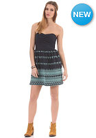 SUPERDRY Womens Broderie Lights Dress navy/aqua stitch