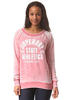 SUPERDRY Womens Burnout Slouch Sweat clay burnout
