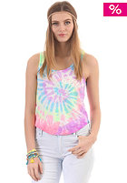 SUPERDRY Womens Burnout Swirlwind Vest Top purest optic tiedye