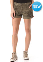 SUPERDRY Womens Cammodity Chino Short green olive camo