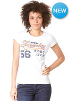 SUPERDRY Womens Capital Division Sport S/S T-Shirt optic