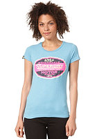 SUPERDRY Womens Dependable Reworked Classic S/S T-Shirt rebo blue marl