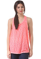 SUPERDRY Womens Destroyed Slouch Tank Top fluro pink