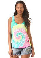 SUPERDRY Womens Festival Tie Dye optic white