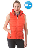 SUPERDRY Womens Fuji Vest manderine red