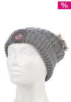 SUPERDRY Womens Fur Pom heather grey