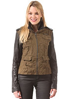 SUPERDRY Womens Megan Skinny Mix Jacket army