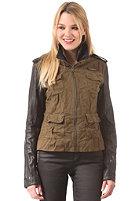 SUPERDRY Womens Megan Skinny Mix Jacket army