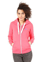 SUPERDRY Womens Orange Label Hooded Zip Sweat strawberry pink