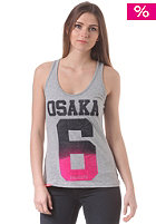 SUPERDRY Womens Osaka Flock Blend Entry Vest Top grey marl