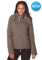 SUPERDRY Womens Polar army/fluro orange