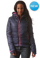 SUPERDRY Womens Polar Sports Puffer Jacket quill ink/rocket pink