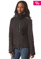 SUPERDRY Womens Pop Arctic Windcheater Zip Hooded black/cali blue marl