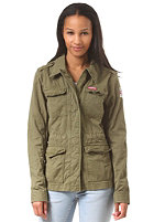 SUPERDRY Womens Rookie Military-Blazer deepest army
