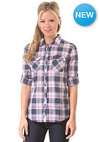 SUPERDRY Womens Sheer Calamity L/S Shirt avery check navy