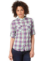 SUPERDRY Womens Sheer Hombre Shirt galaxy