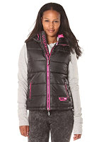 SUPERDRY Womens Sports black/fluro pink