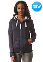 SUPERDRY Womens Storm Hooded Zip Sweat gritty navy marl