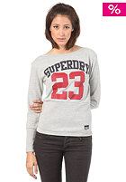 SUPERDRY Womens Superstar Sweatshirt grey marl