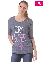 SUPERDRY Womens The Italic Top navy grit nep
