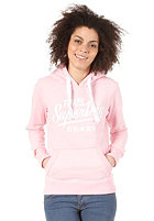 SUPERDRY Womens Ticket Type Entry Hooded Sweat sugar pink marl