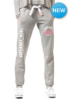 SUPERDRY Womens Track & Field Sweat Pant light grey true grit