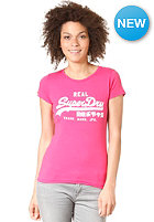 SUPERDRY Womens Vintage Entry S/S T-Shirt punk pink/optic