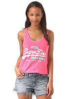 SUPERDRY Womens Vintage Logo Duo-Entry fluro pink