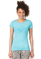 SUPERDRY Womens Vintage Logo Entry Crew S/S T-Shirt aquamarine