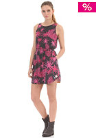 SUPERDRY Womens Wavebreaker Cut out Dress black marl/hot pink